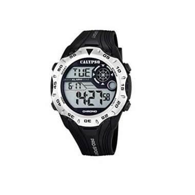 Ρολόι CALYPSO Digital Black Rubber Strap 5665-1