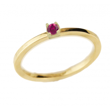 Δαχτυλίδι 14Κ Χρυσό με Ζαφείρι