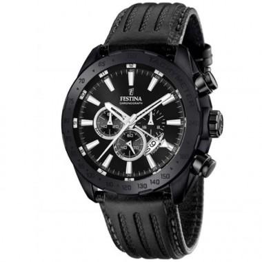 FESTINA Black chronograph Stainless Steel Bracelet F20363/3