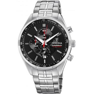 FESTINA chronograph Stainless Steel Bracelet F6863/4