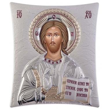 Χριστός 00110 Ασημένια εικόνα