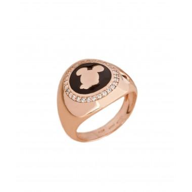 Ασημενιο δαχτυλιδι Disney
