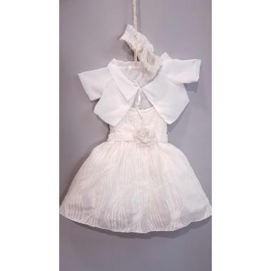 MT-202 MAKIS TSELIOS Βαπτιστικό Ρούχο για κοριτσακι