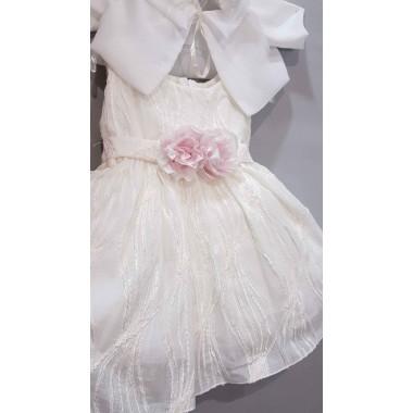 MT-221 MAKIS TSELIOS-Βαπτιστικό Ρούχο Για Κοριτσακι