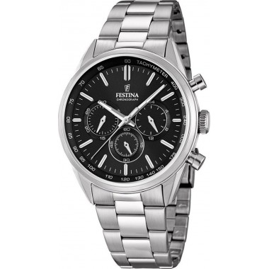FESTINA Stainless Steel Chronograph F16820/4