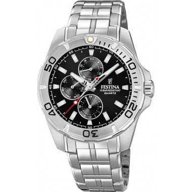 Festina Multifunction Stainless Steel Bracelet F20445/3