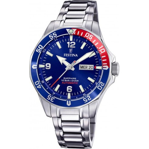 FESTINA Diver Automatic Stainless Steel Bracelet F20478/2
