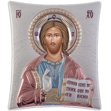 Χριστός 00122 Ασημένια εικόνα