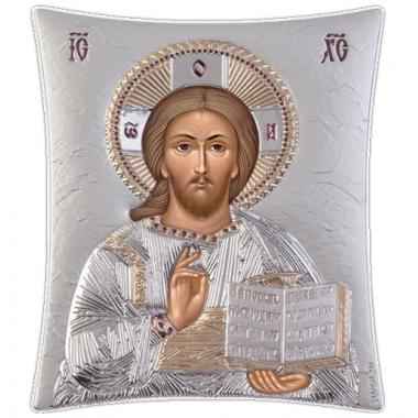 Χριστός 00207 Ασημένια εικόνα