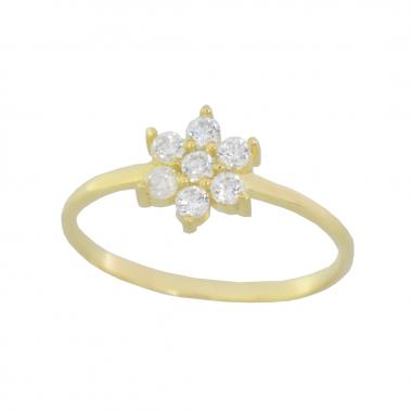 Δαχτυλίδι από χρυσό 9 καρατίων