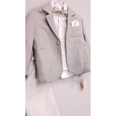 Makis Tselios Βαπτιστικό Ρούχο για Αγόρι