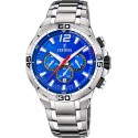FESTINA Silver Stainless Steel Chronograph F20522/2