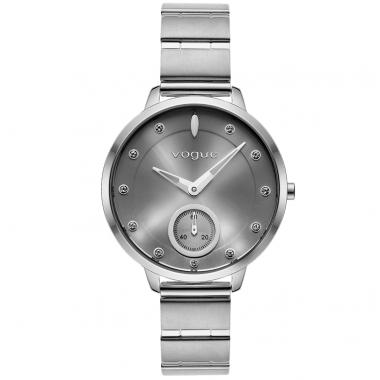 VOGUE Forum Crystals Silver Stainless Steel Bracelet