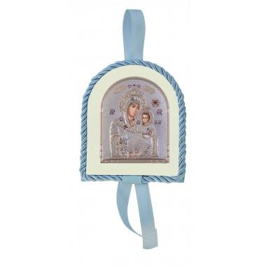 Μπλε εικονάκι κούνιας Παναγία Βηθλεέμ