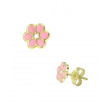 Παιδικά σκουλαρίκια για Κοριτσι 14 Καρατίων