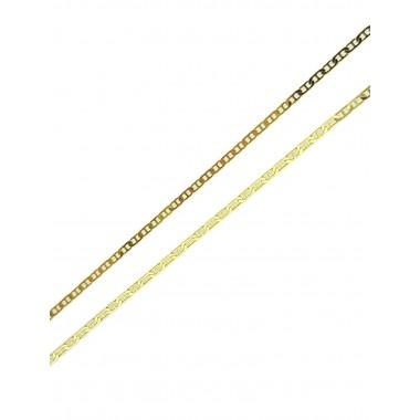 Αλυσίδα θήτα από χρυσό 14 καρατίων